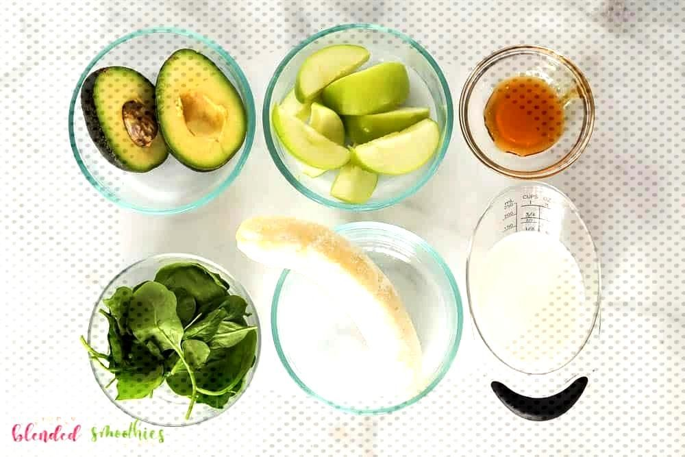 Good Images Green Apple Avocado Green Smoothie | Simply Blended Smoothies Tips  Vegetable Smoothi