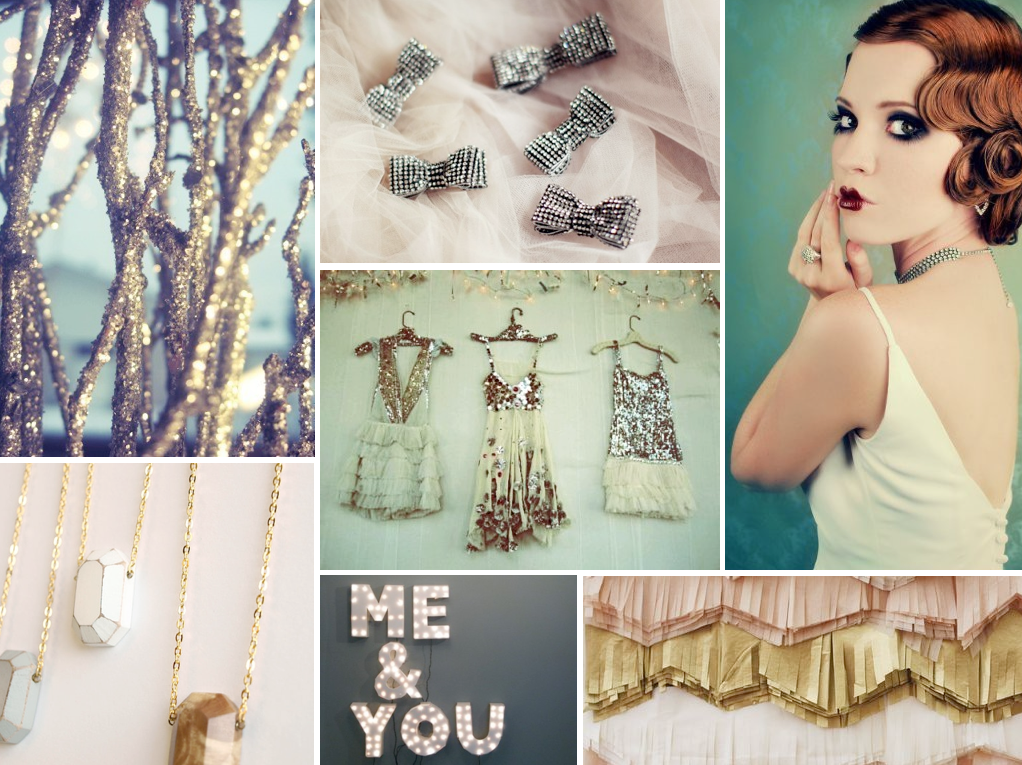 Great Gatsby Wedding Inspiration Board from @Sara Eriksson Eriksson Eriksson {Burnett's Boards}