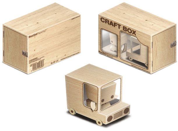 BoxZet Craft Box de ByManStudio   Paper toys, Papercraft and Toy