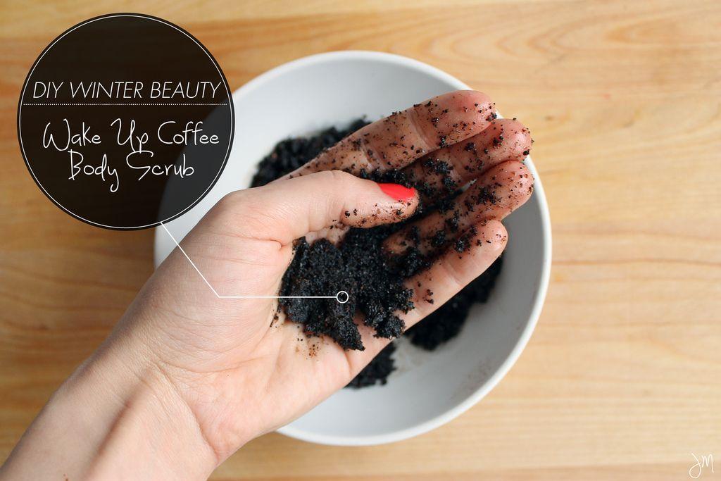 DIY Winter Beauty Wake Up Coffee Body Scrub Body scrub ...