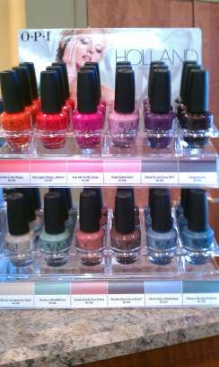 Love the new HOLLAND Collection >> OPI