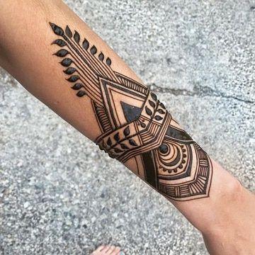 Tatuajes Tribales Antebrazo Ideas Tatuajes En El Brazo Henna
