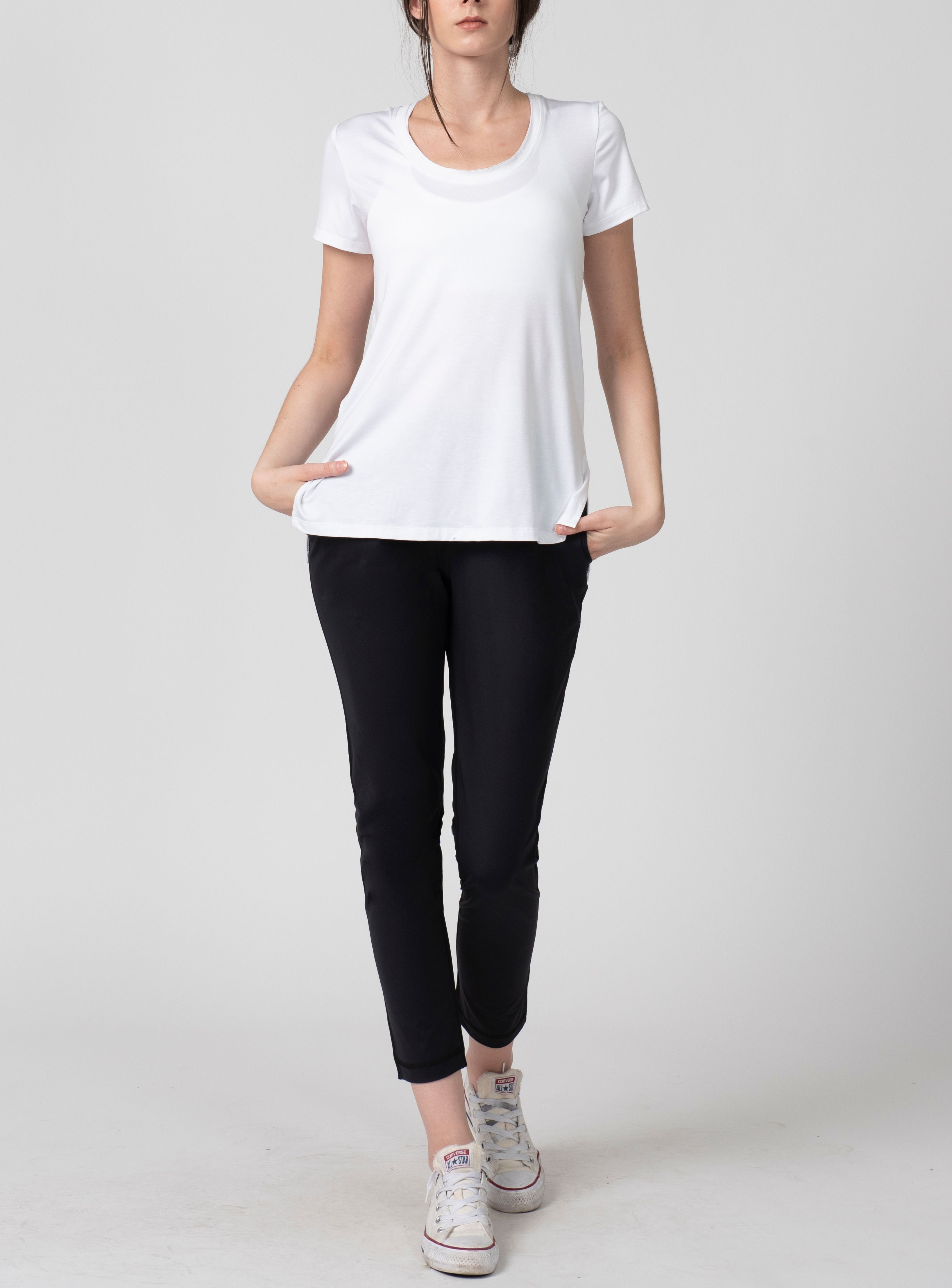 Beryl TShirt White Athletic outfits, Active outfits