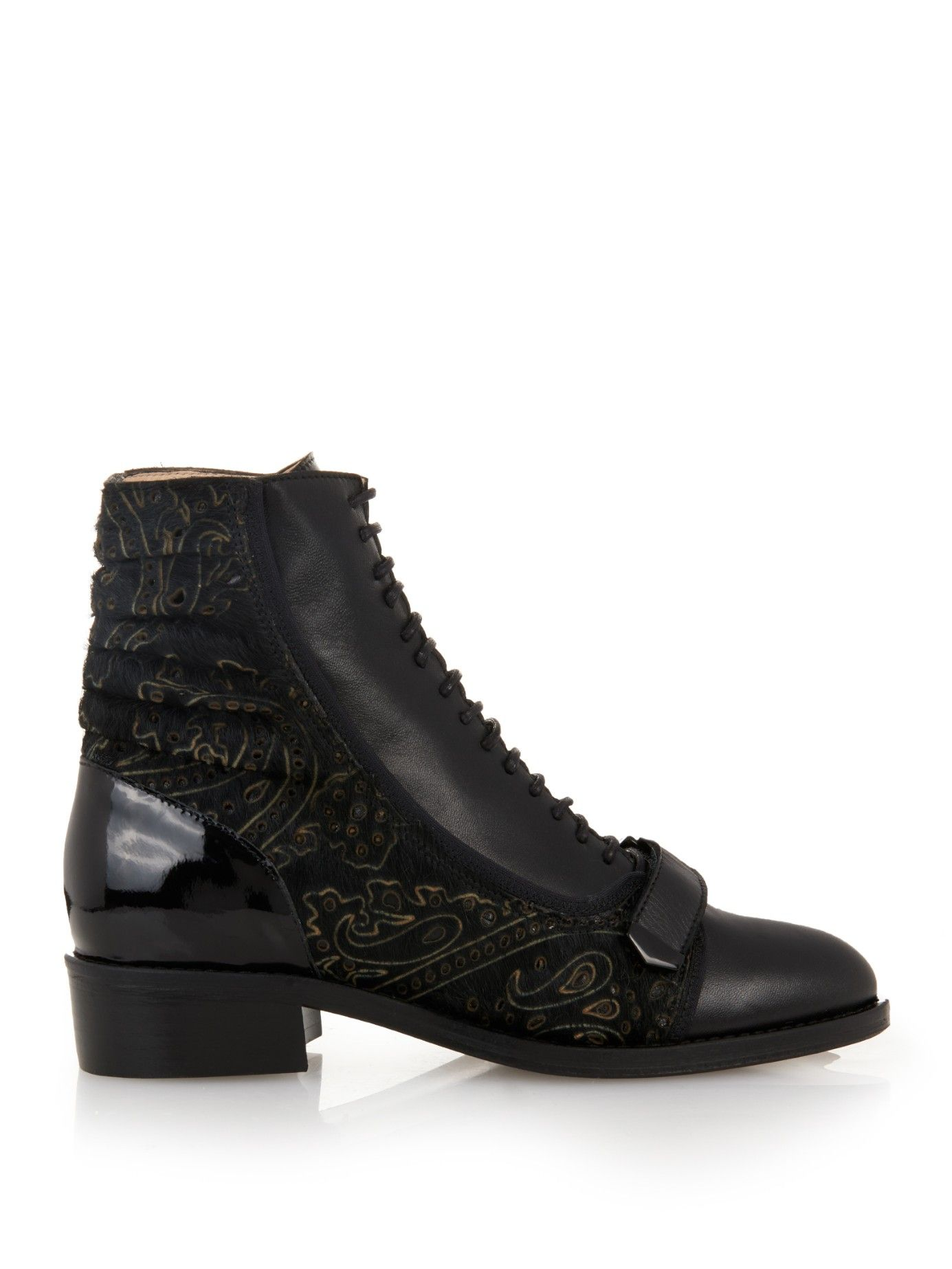 Preen by Thornton Bregazzi Preen Pointed-Toe Ankle Boots 2014 cheap price cheap sale with credit card caKYQ