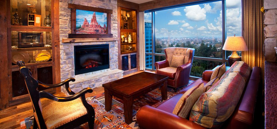 Thunder Suite Disneyland Hotel Resort Disney Hotels Downtown
