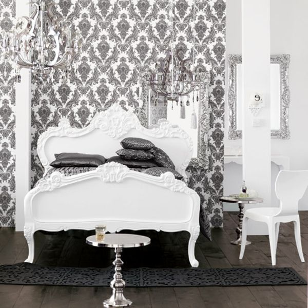 Barock Tapete - 38 atemberaubende Fotos! - Archzinenet Bedrooms - moderne tapeten fr schlafzimmer