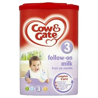 Cow & Gate Follow-On Milk from Six Months Stage 3 900g ...