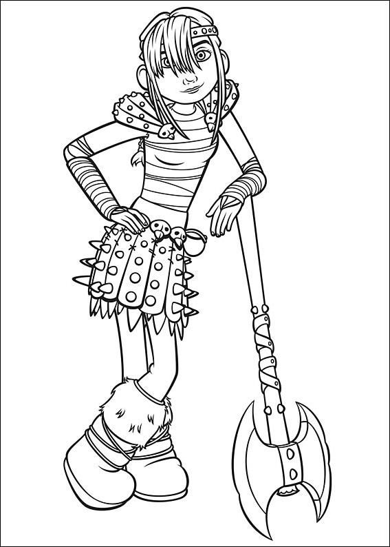 How To Train Your Dragon Coloring Pages Dragon