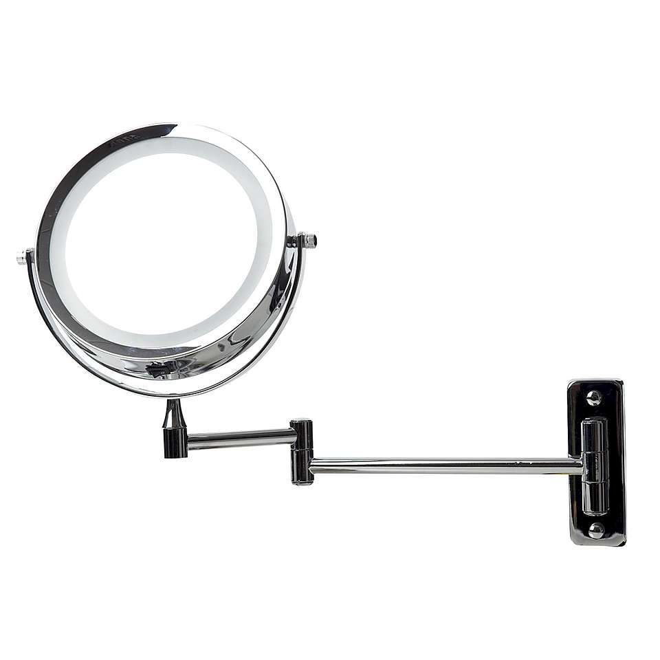 Dunelm Extendable Wall Mounted LED Mirror | Wall mount, Walls and House