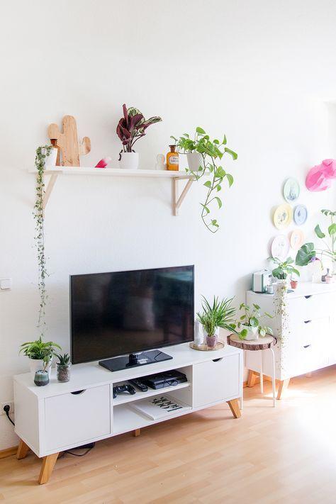 Wohnzimmer Umstyling mit viel DIY Deko Pinterest Tv stands