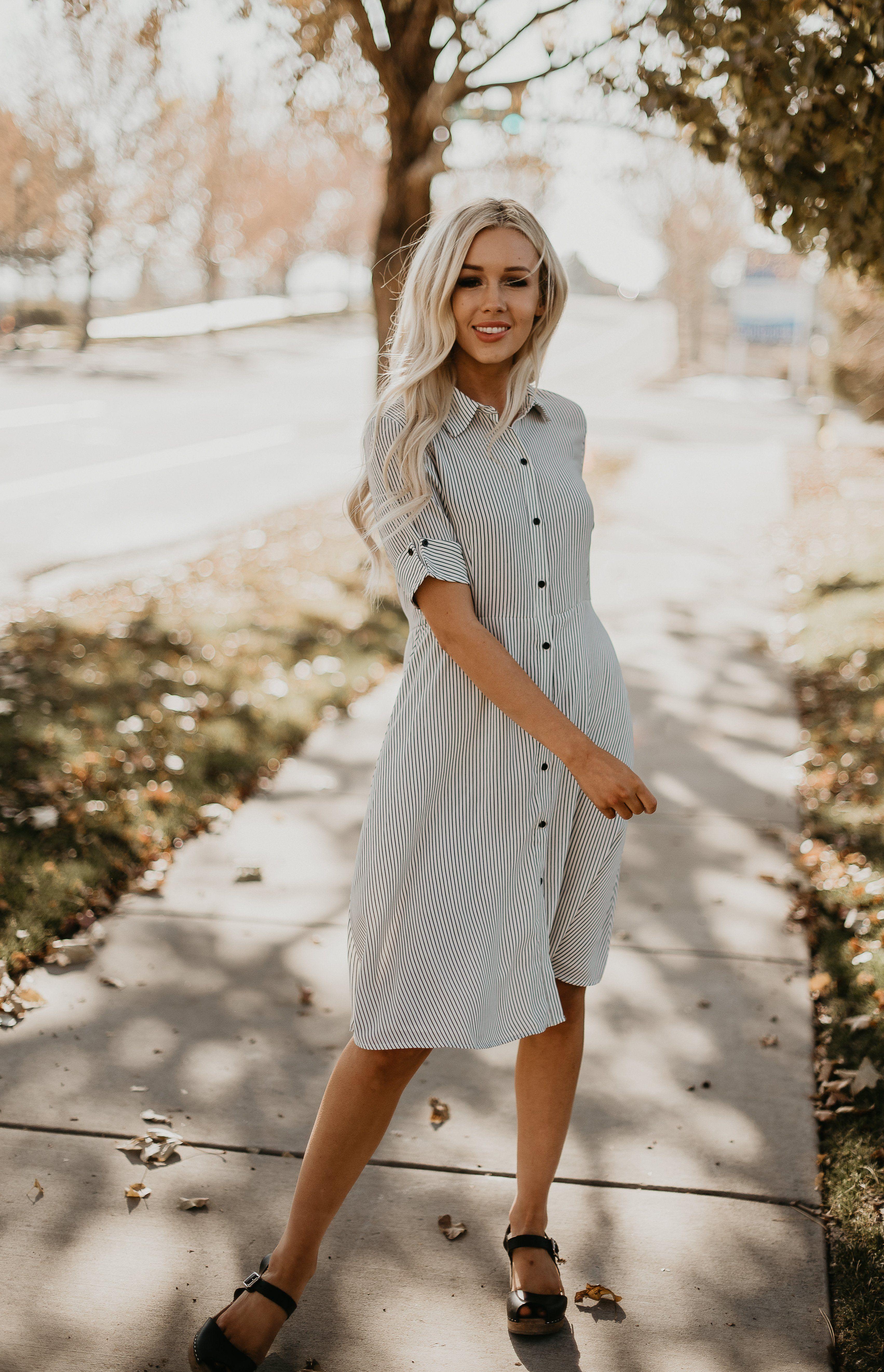 fb7fa052e2ef Elliot Striped Dress