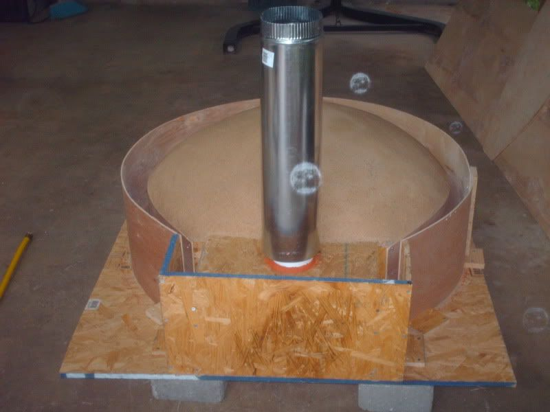 My Cast Refractory Oven Build Forno Bravo Forum The Wood Fired