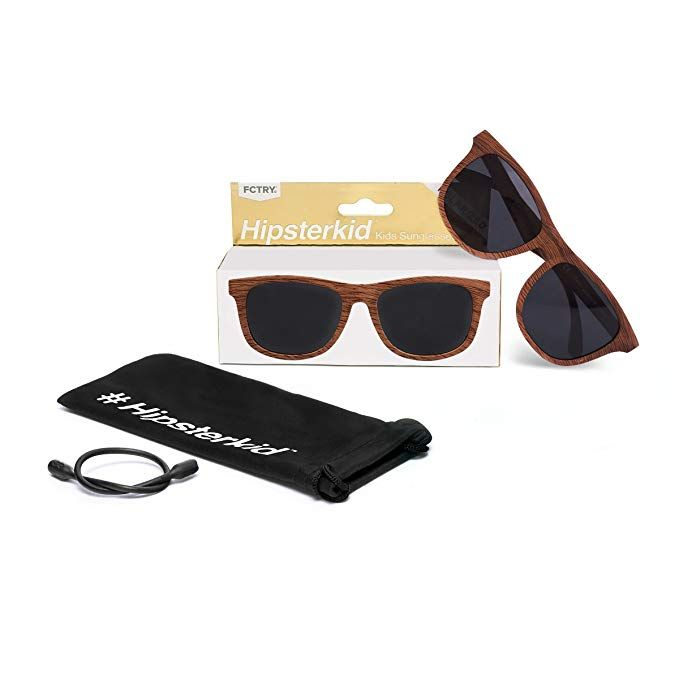 3923a8e916 Amazon.com  Hipsterkid Baby Opticals - Polarized Glasses w Strap - Kids