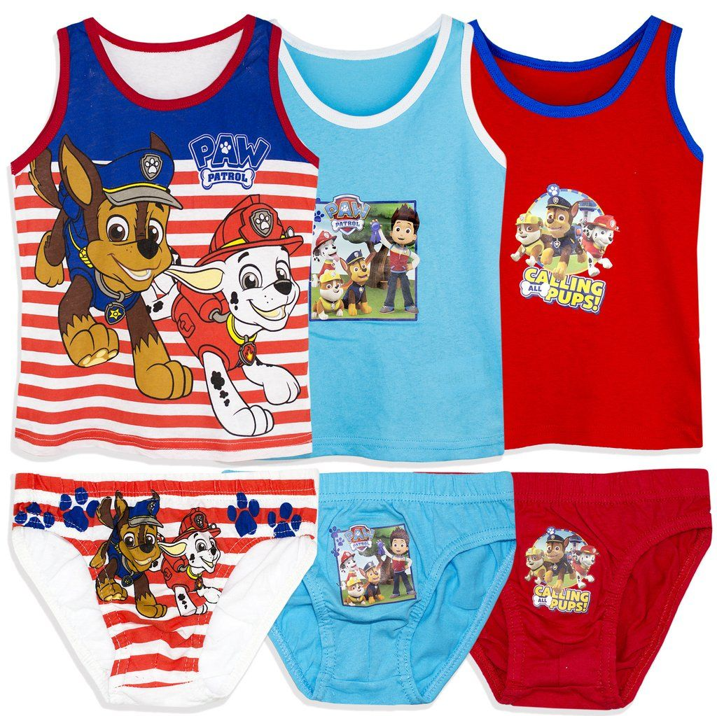 Official Paw Patrol 3 Pack Girls Knickers Underwear Ages 2-8