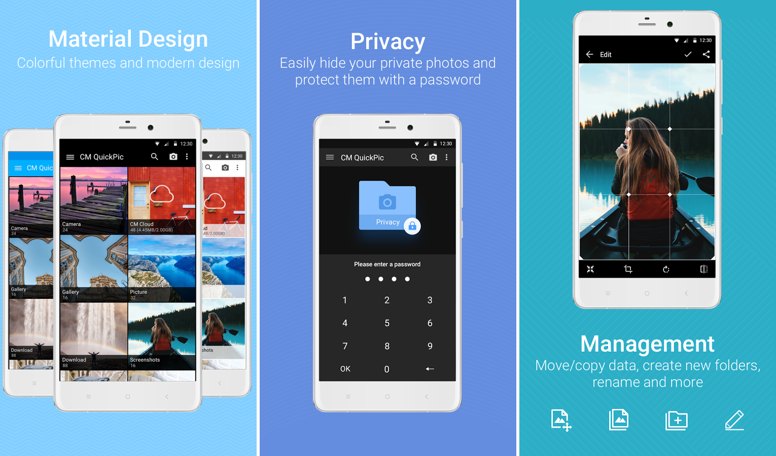QuickPic #Gallery app review: Easy way to manage and backup #photos