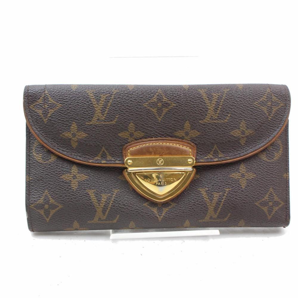 Authentic louis vuitton long wallet eugene browns monogram