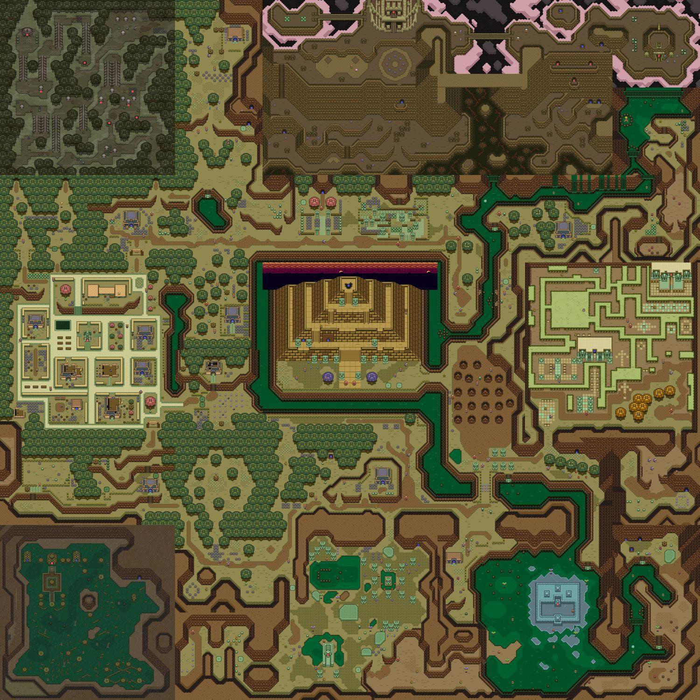 Link To The Past Wall Mural Legend Of Zelda Zelda Map Pixel Art Ideas for zelda link to past map
