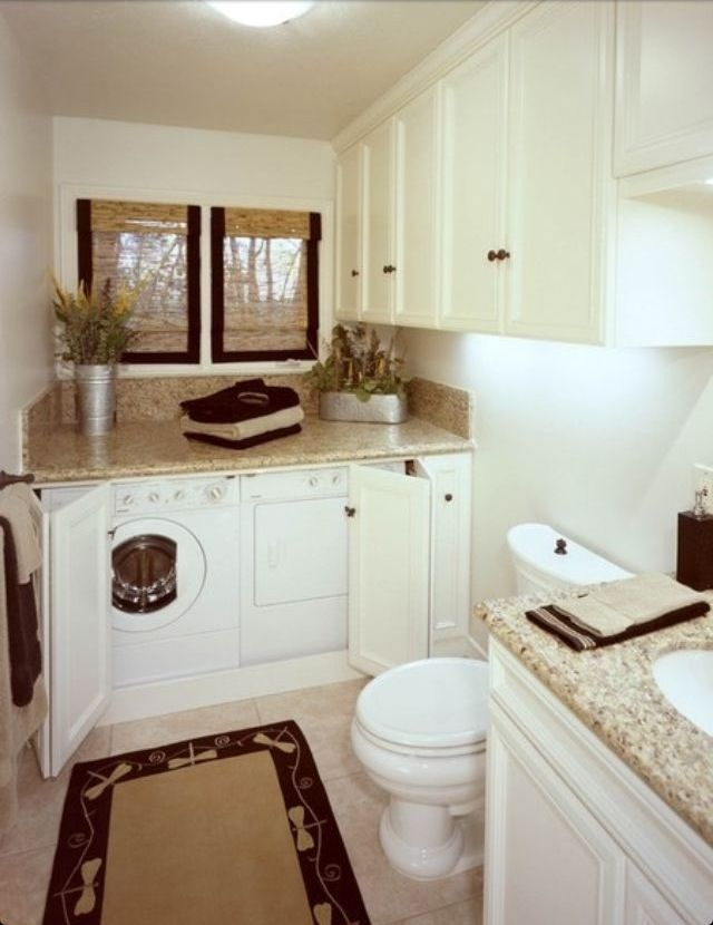 Pin By Karen Saunders On Home Decor Laundry In Bathroom Laundry Bathroom Combo Laundry Room Bathroom