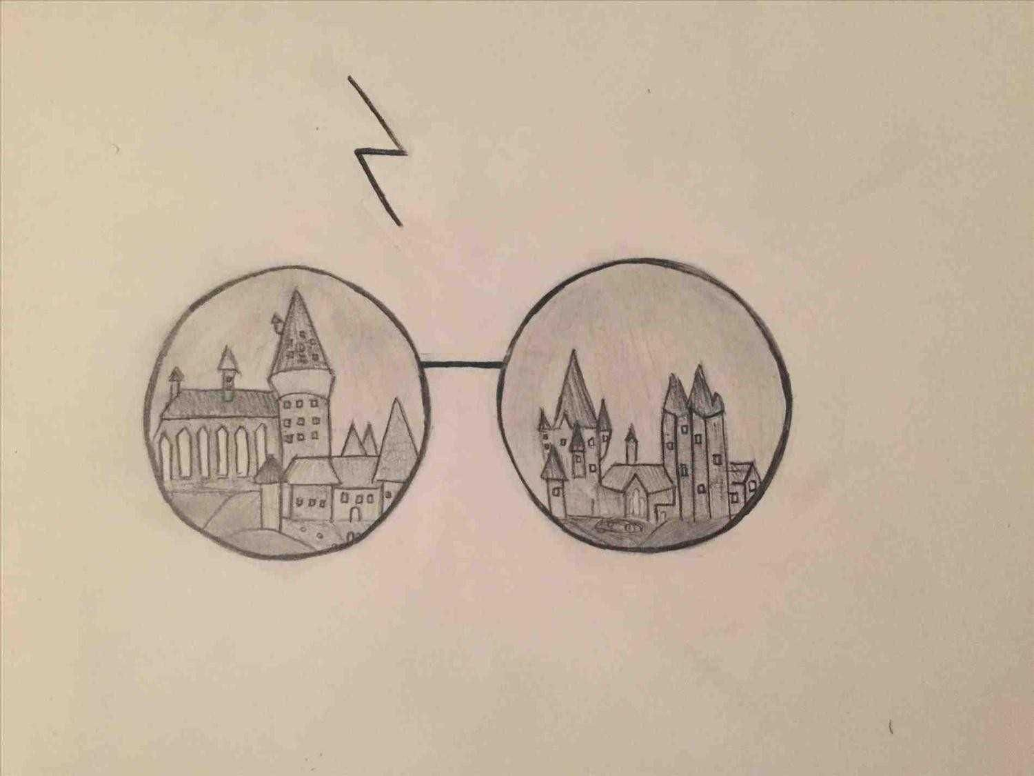 The Harry Potter Drawing Ideas Images Collection Of Easy Drawing Ideas Harry Potter Hogwart Harry Potter Drawings Harry Potter Art Drawings Harry Potter Sketch
