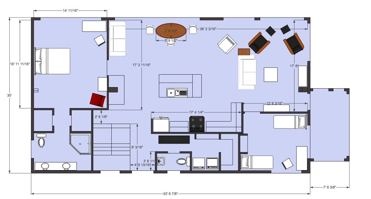 Floor Plan In Top View Mode Parallel Projection Mode Floor Plans How To Plan Flooring