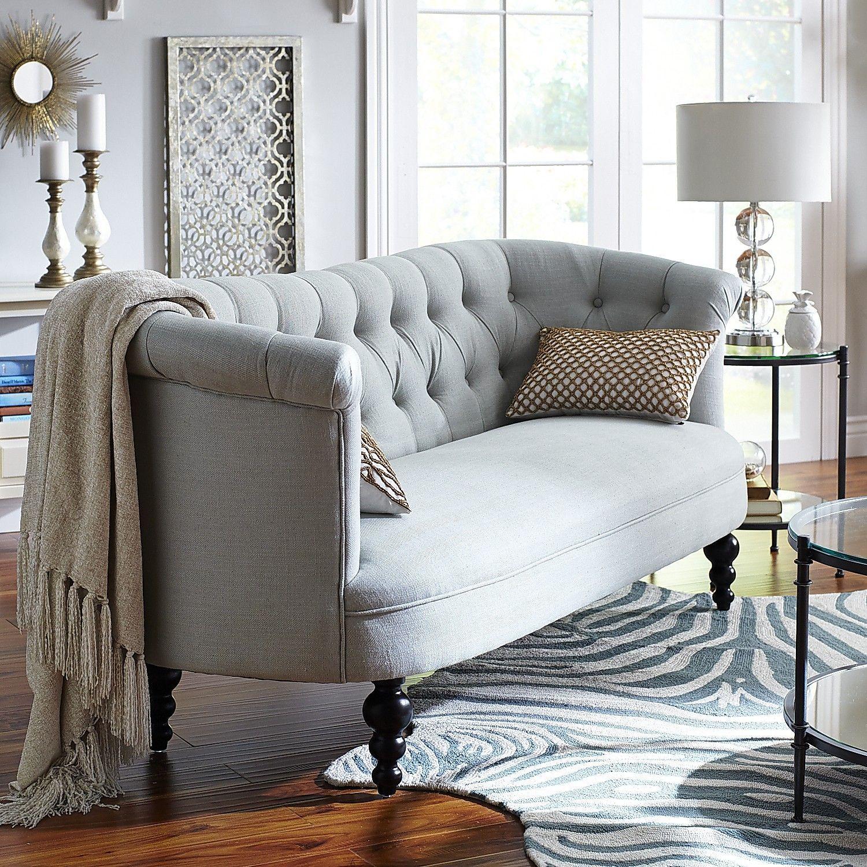Colette Sofa - Mist   Pier 1 Imports   Farmhouse Style   Pinterest ...