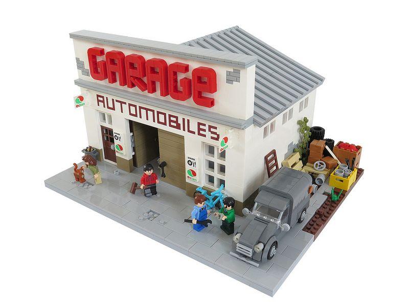 Le garage lego houses pinterest lego lego mini et for Garage mini 77