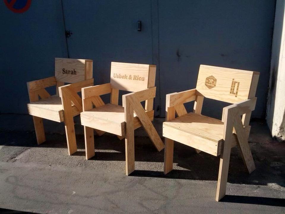 La chaise Scala - à fabriquer soi-même chez ICI Montreuil grâce à la