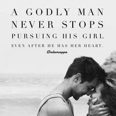 Never stop pursuing me, my future husband, and I will never stop pursing you <3