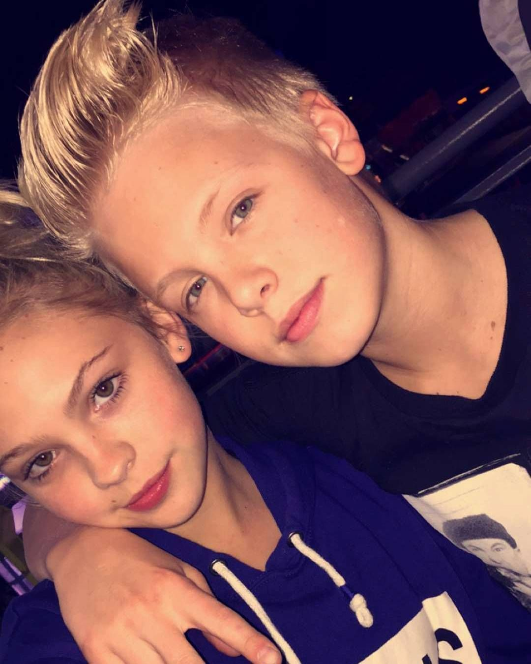 Carson who lueders girlfriend is Carson Lueders