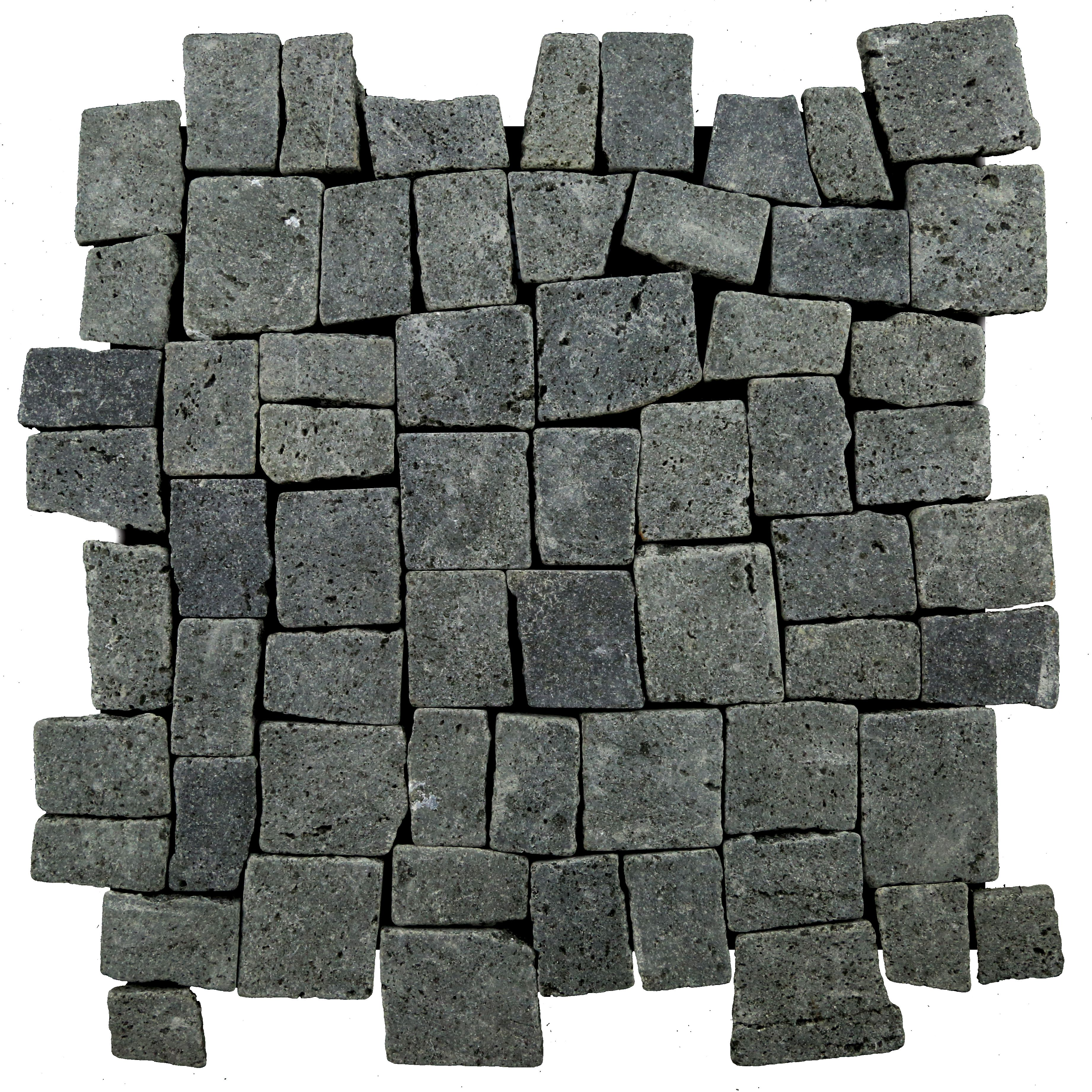Easy To Install Mesh Backed Interlocking Natural Stone Tile Made Out Of High Quality Indonesian Black Basa Pebble Mosaic Tile Pebble Tile Natural Stone Tile