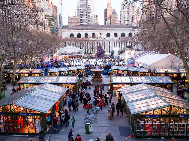 Bryant Park Christmas Market.Here S The Vendor List For The Bank Of America Winter