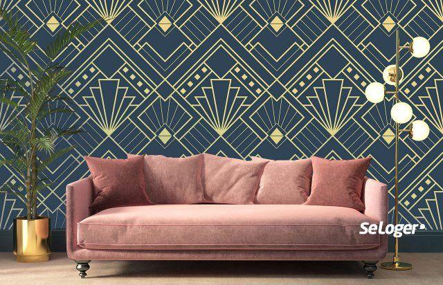 Tendance papier peint : en 2019, on mise tout sur le style Art Déco !