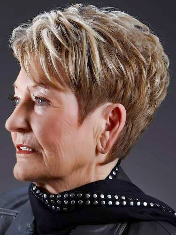 Cortes Pelo Corto Mujeres 60 Anos My Style Short Hair Cuts For