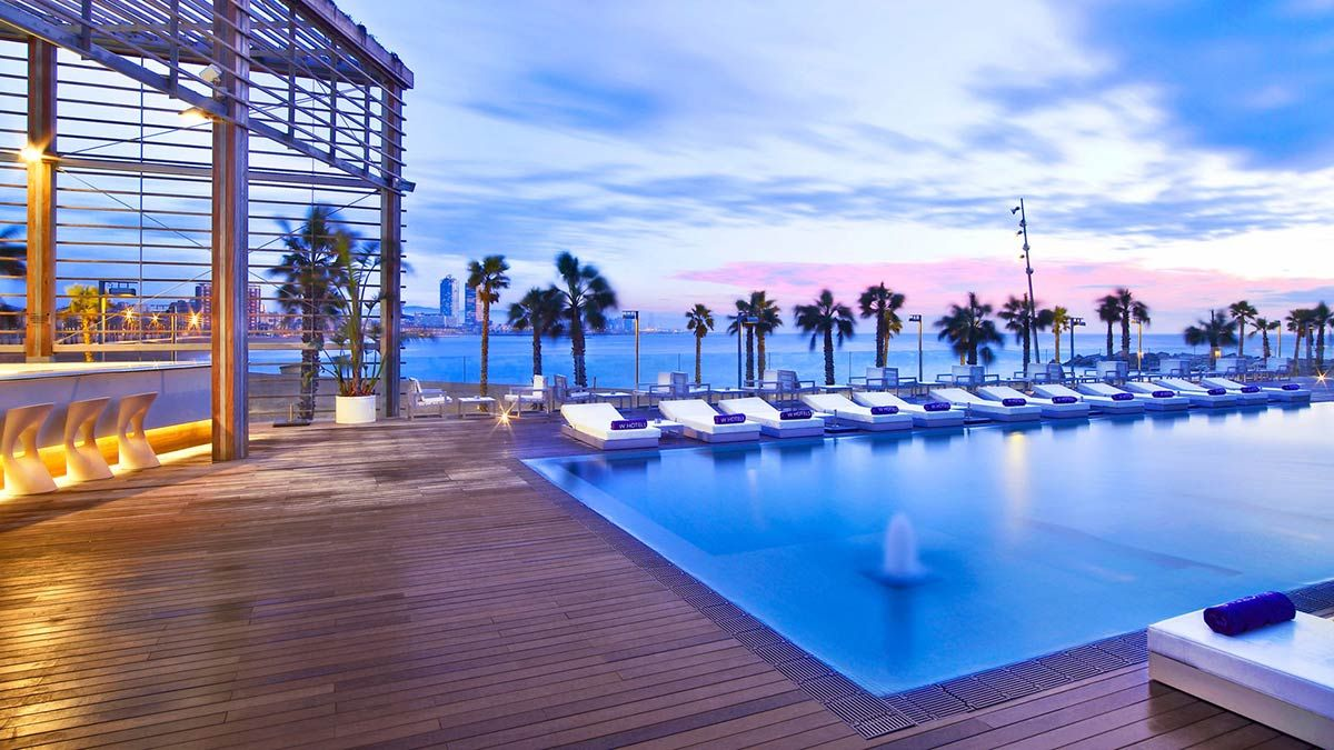 Our Top 5 Hotel Terraces In Barcelona Barcelona Hotels W
