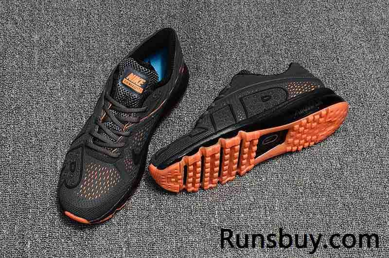new products 4cfb4 05b00 New Coming Nike Air Max 2017 9 Men Carbon Grey Orange