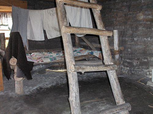 Inside A Sod House Prairie Dugout Sod House On The Prairie