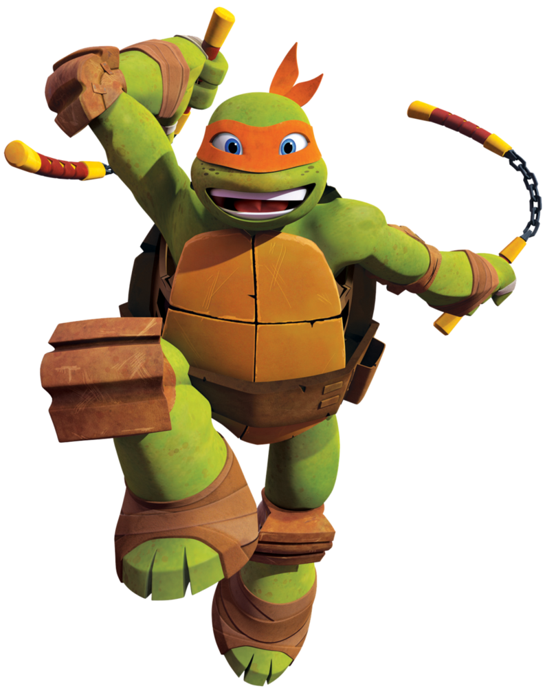 teenage mutant ninja turtles nickelodeon michelangelo ...