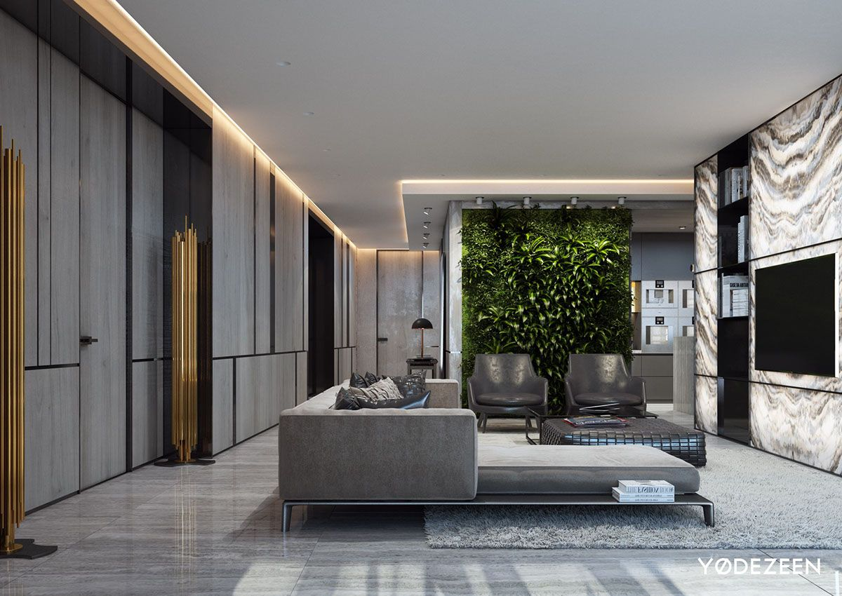 Leisure House In Miami On Behance Luxury Living Room Design Luxury Homes Miami Houses