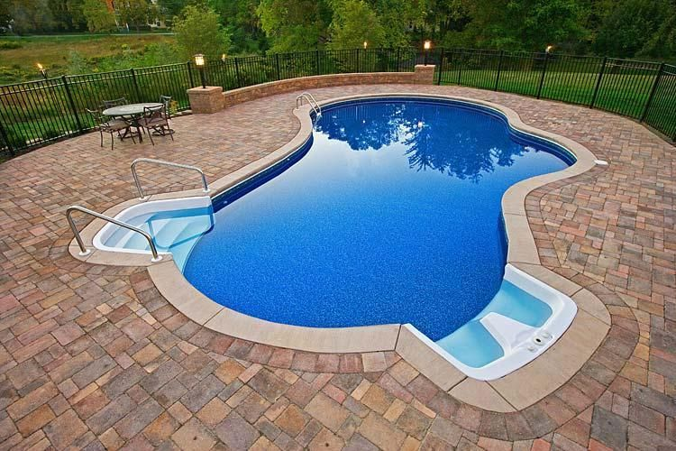 In Ground Pools Galleries Pettis Pools Amp Patio Hilton Ny