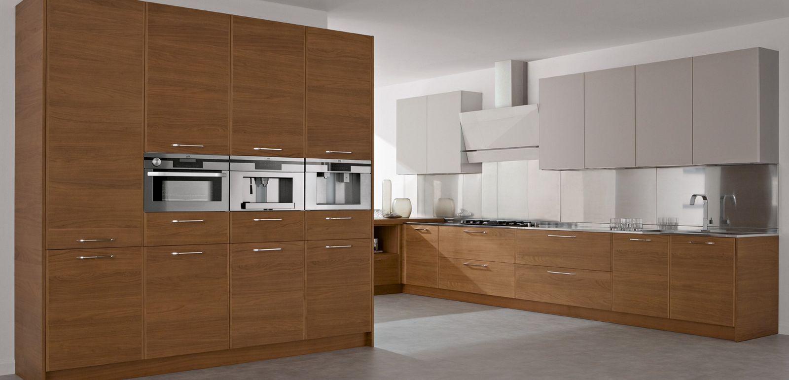 Kitchen Modern Interior Kitchen With Wood Concept Featuring