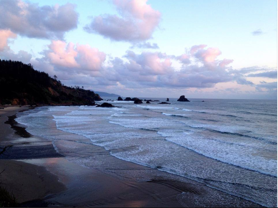 Indian Beach in Ecola State Park,OR