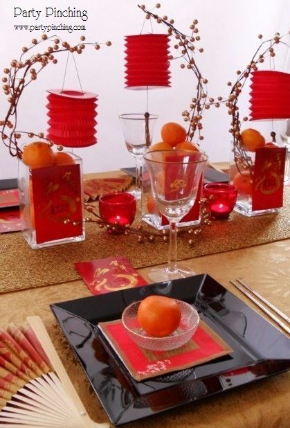 Inspiration of the day: This coming New Year, decorate your home Chinese style. Kung Hei Fat Choi!