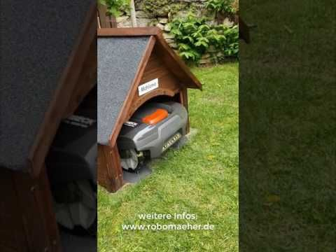 Mahroboter Garage Fur Den Automower 305 Selbst Bauen