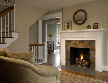 Simple Fireplace Surrounds Design Ideas Pictures Remodel And