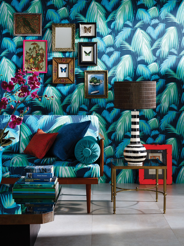 matthew williamson in collaboration with osborne little. Black Bedroom Furniture Sets. Home Design Ideas