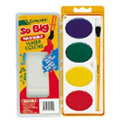 Crayola Llc So Big Water Color Refill Craft Supplies Color
