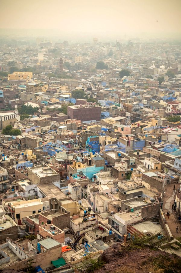 The Blue City - Jodphur, India