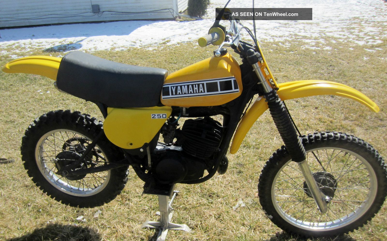 That motocross vintage yamaha all