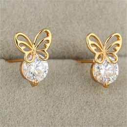 Gold Earrings For Babies Online 18k