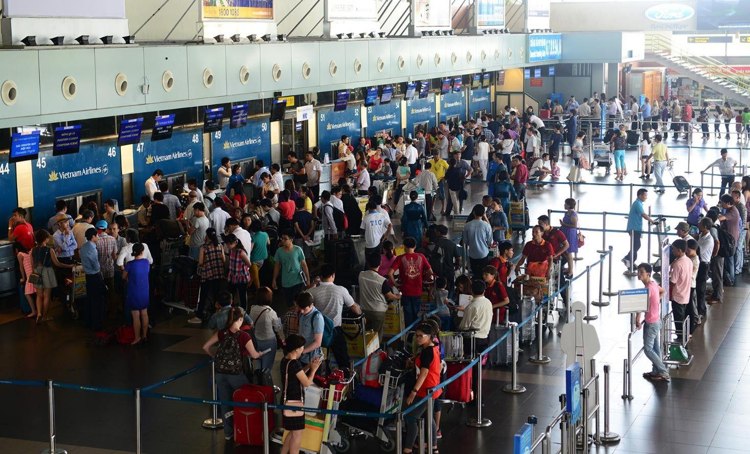 Thủ tục check-in sân bay quốc tế Nội Bài